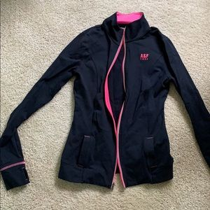 NWOT Abercrombie athletic zip up
